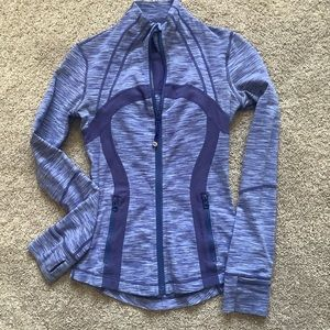 LuluLemon Define Jacket size 2 Blue/Purple EUC